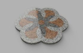 изделие из нескольких видов камня