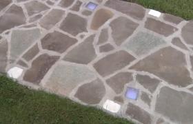 Готовая дорожка из камня
