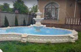 Гранитный фонтан
