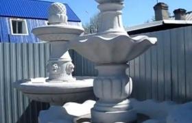 Варианты исполнения многоярусных фонтанов
