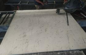 Процесс изготовления подоконников из мрамора
