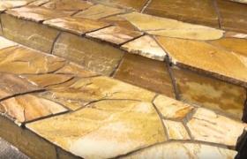 Облицовка ступеней лестницы натуральным камнем