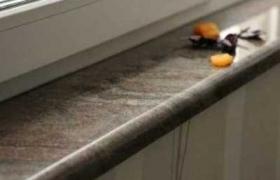 фотография гранитного подоконника