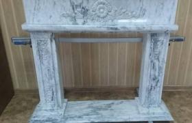 Мраморный портал для камина - фото 2