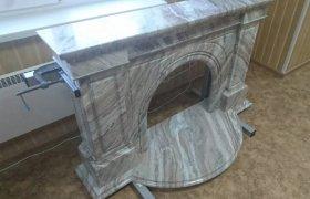 Мраморный портал для камина - фото 3