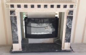 Камин с мраморным порталом - фото 3