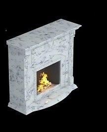 камин мраморный с прямоугольным порталом - от 60 000 руб.
