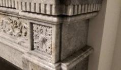 Детали каминного портала