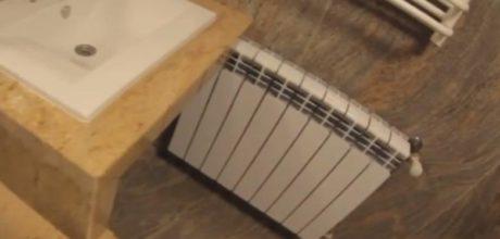 фото ванной комнаты отделанной натуральным камнем